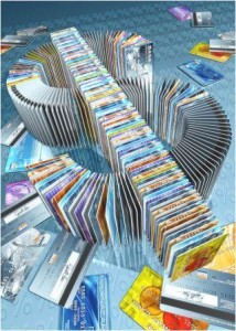 Credit cards can cause a domino effect on your finances!